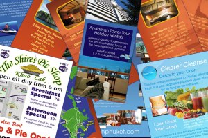 Flyers and leaflet design