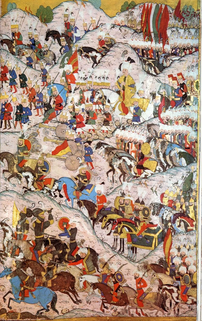 معركة موهاكس ما لم تنساه أوربا للسلطان سليمان القانوني
