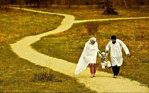 أسرة مسلمة