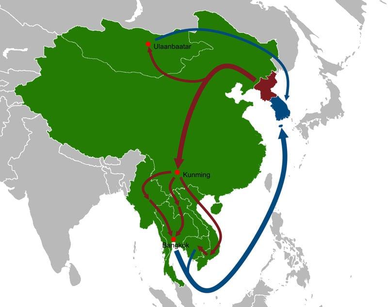 كل ما تحتاج لمعرفته عن كوريا الشمالية... 40 خريطة تشرح لك 31