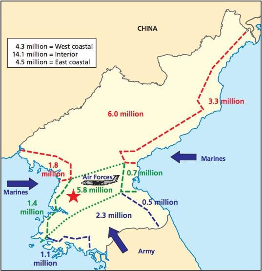 كل ما تحتاج لمعرفته عن كوريا الشمالية... 40 خريطة تشرح لك 35