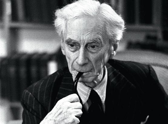 الفيلسوف برتراند راسل
