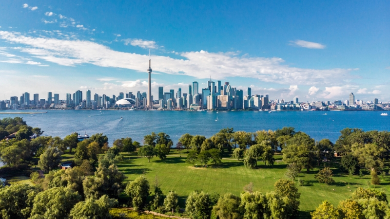 A park in Toronto