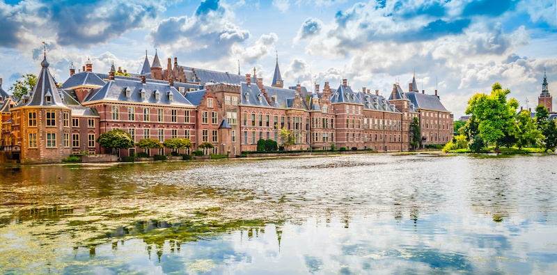 The Binnenhof is a historic set of buildings in the Hague
