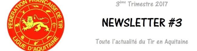 [Information] Newsletter 3ème trimestre 2017