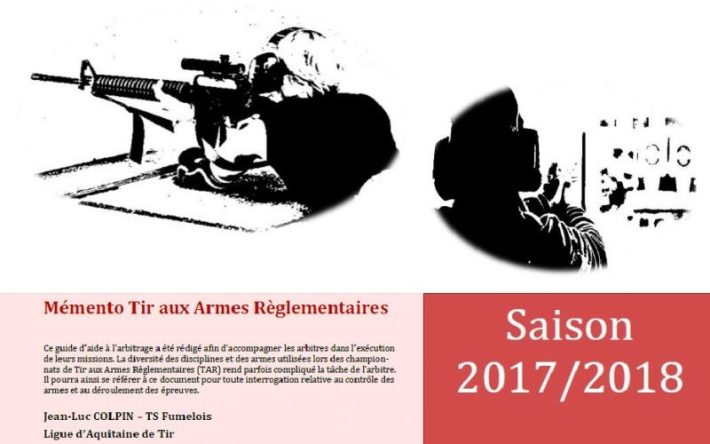[Compétition/Arbitrage] Mémento Tir aux Armes Règlementaires – Armes Longues