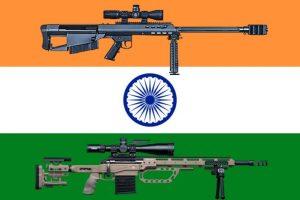 La India compra 6.000 rifles de francotirador italianos y americanos