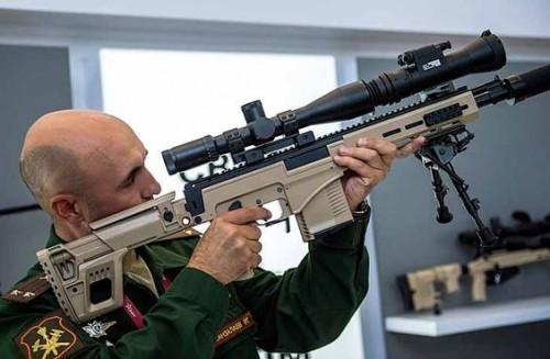 Fusil de francotirador SVK, el sucesor del Dragunov