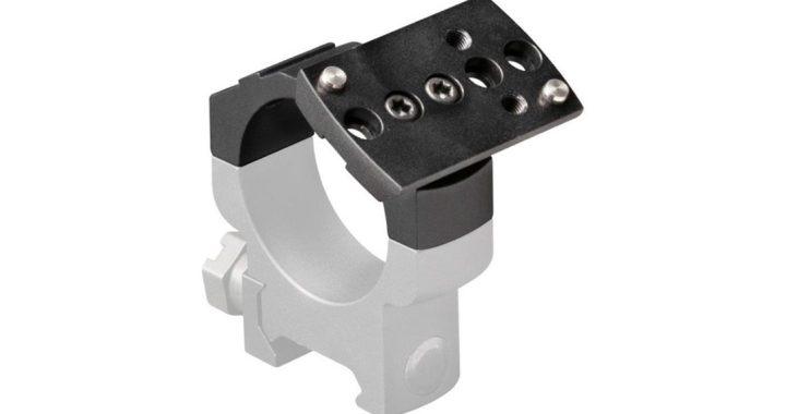 Leupold DeltaPoint Pro AR y los montajes superiores Pro Ring añaden versatilidad