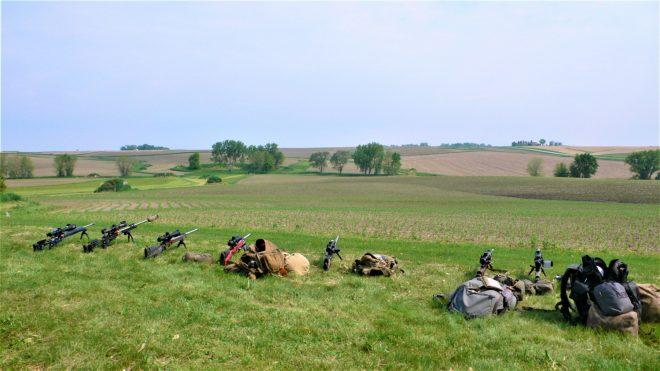 Una visita al concurso de la Liga Nacional de Rifle en Iowa