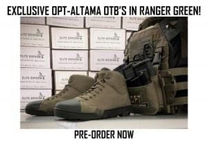 Ahora disponible para pre-pedido: ¡Botas de asalto marítimo OPT-Altama OTB exclusivas en Ranger Green!