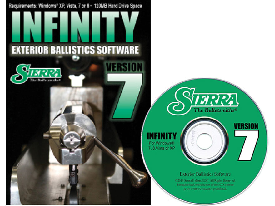 Sierra Infinity Exterior Ballistics Software – V7
