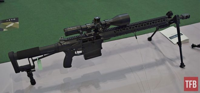 Rifle de precisión de Nord Arms Semi-Automatic 338 Lapua Magnum