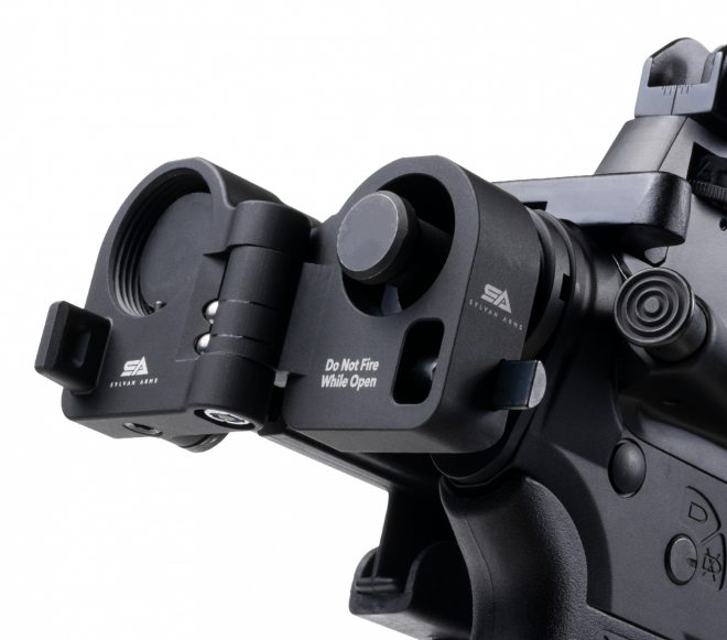 Sylvan Arms Gen3 Adaptador de stock plegable con bisagras AR-15