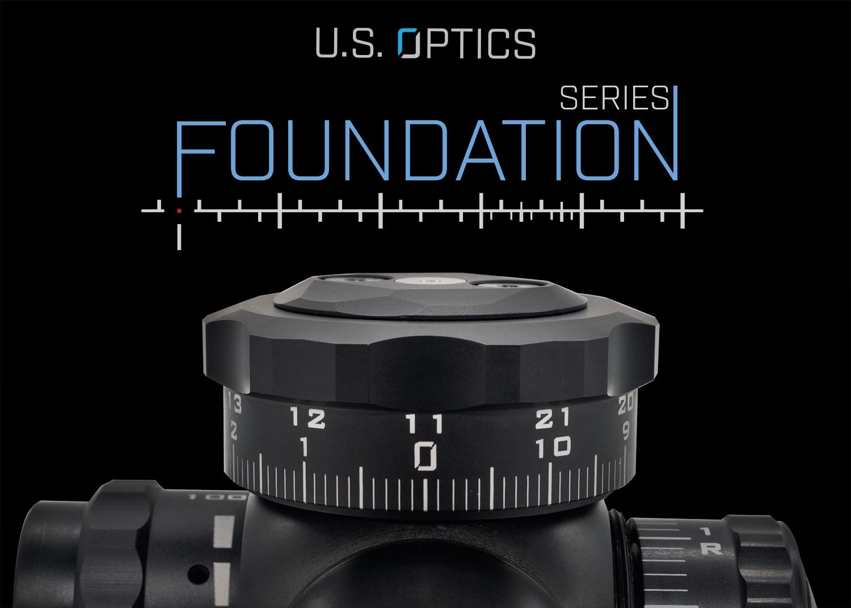 US Optics lanza la línea de óptica de la serie Foundation