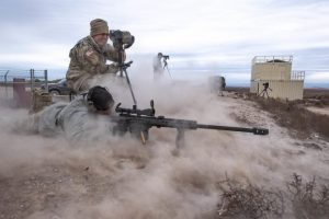 Puntería de largo alcance con el .50 BMG