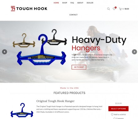 Tough Hook – Nueva marca y sitio web