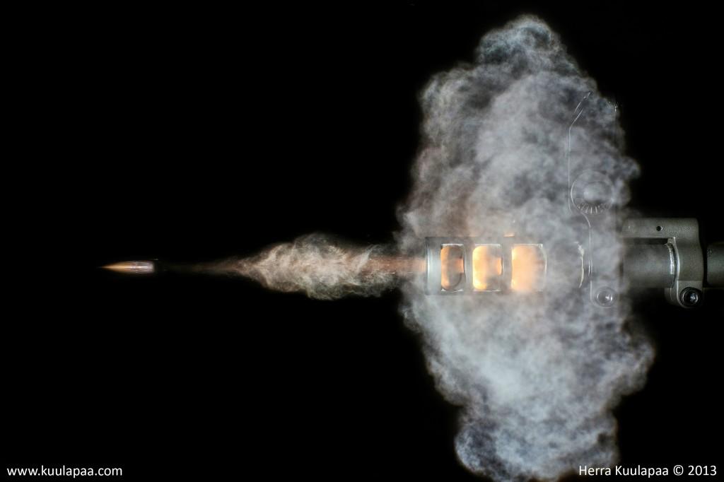 Disparos de largo alcance: balística externa: trayectoria de bala, parte 1-2