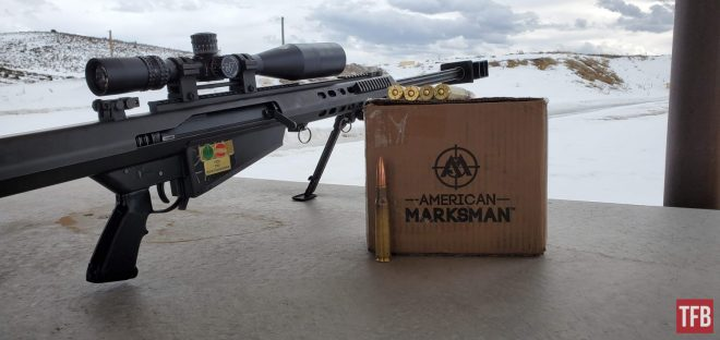BMG .50 de American Marksman a través de Barrett M82A1 Accurized de Mike Pappas