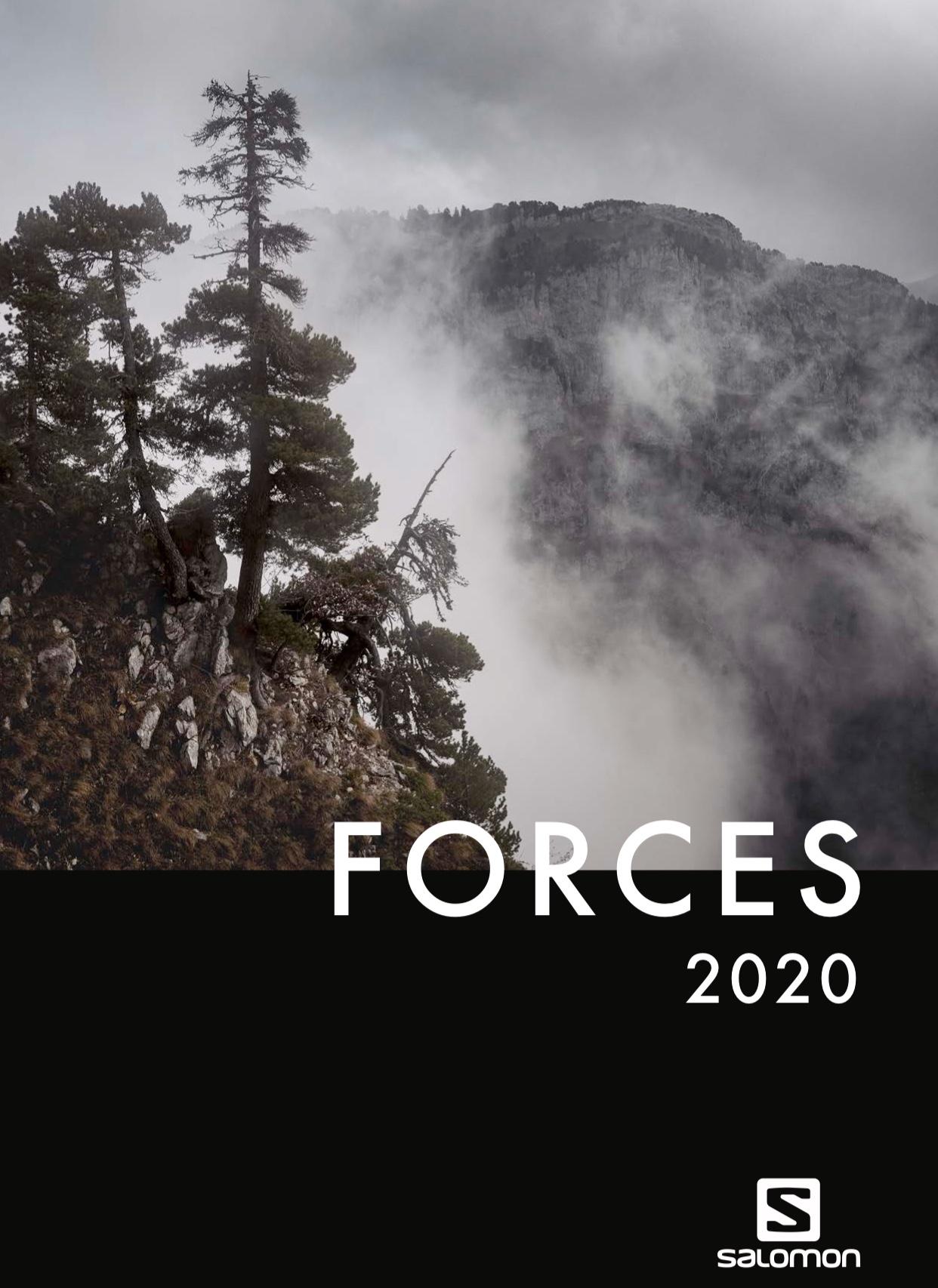 Nuevo catálogo Salomon Forces 2020
