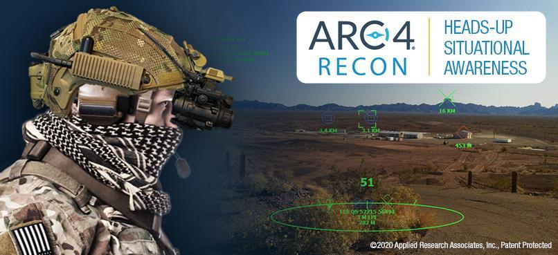ARA – Control de comando de realidad aumentada de Comunicaciones  y coordinarción RECON