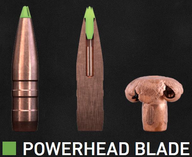 Nueva línea de cartuchos SAKO con balas Powerhead BLADE sin plomo