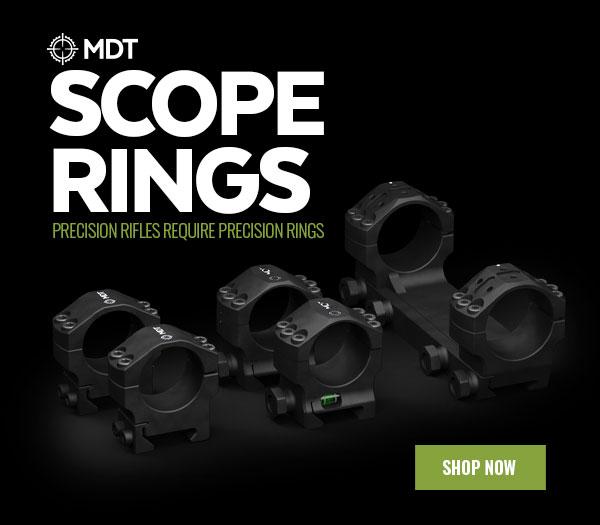 Los rifles de precisión requieren anillos de precisión