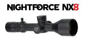 Nightforce presenta cuatro nuevos visores SFP NX8