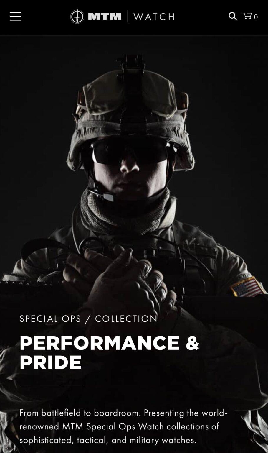 MTM | Watch lanza un nuevo sitio web y presenta el reloj más nuevo en la colección