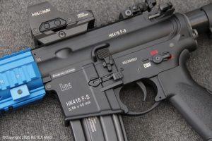 El ejército francés adopta  HK416F-S Airsoft para entrenar