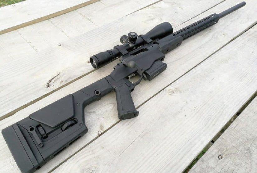 Rifle Remington 700 PCR para competir en PRS