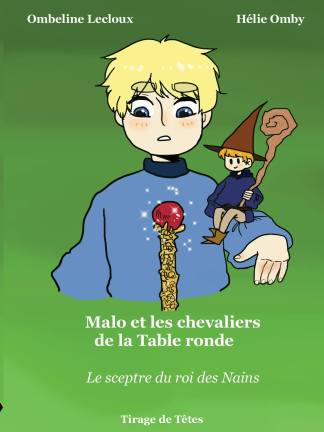Couverture Malo et les chevaliers de la Table ronde