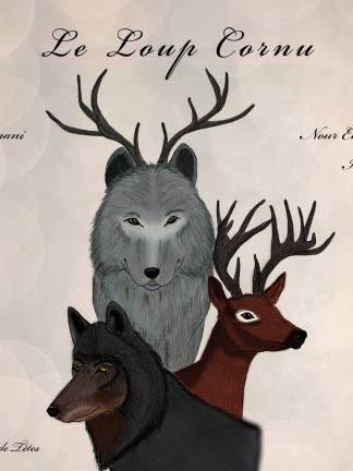 Couverture Le loup cornu