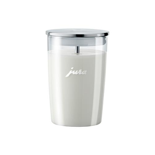 Glazen melkbeker volautomaat Jura