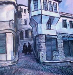 Mëngjes në Gjirokaster, Lazar Taci