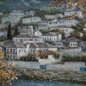 Muzg vjeshte në Goricë, Lazar Taci