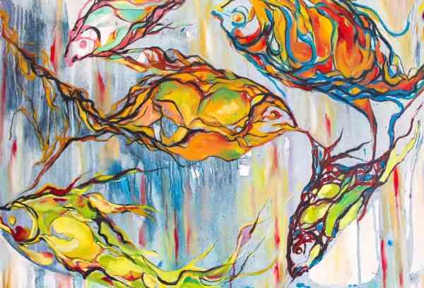 Peshqit abstrakt, Aferdita Myrtaj