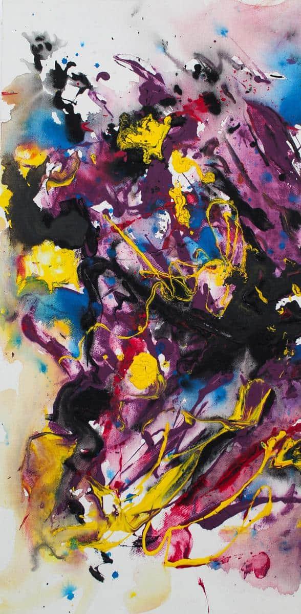 Pikturë abstrakte, Ida Malaj