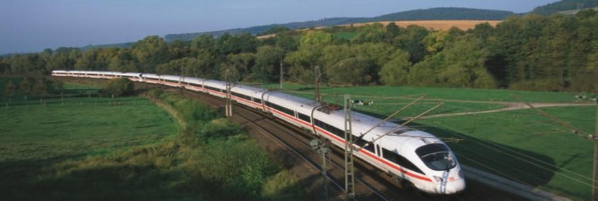 Viajando de trem de Hamburgo até Berlim