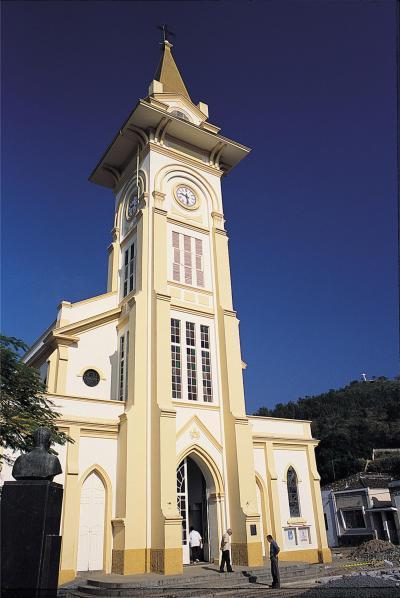 Igreja Matriz (Foto: Turismo Socorro)