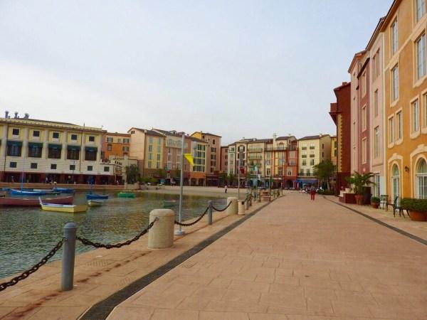 Rua igual a de Portofino na Itália. (Foto: Aline Maróstica)