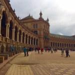 Plaza de España: cenário de cinema em Sevilha