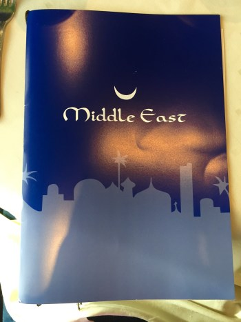 Delícias do Oriente Médio. Foto: AMF / Blog Tirando Férias