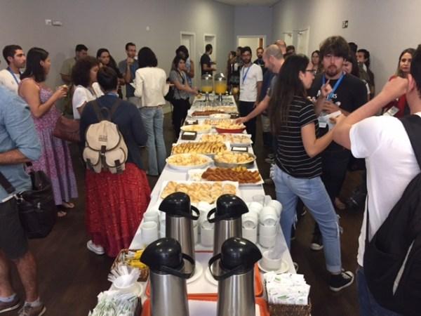 Coffee Break no intervalo entre as palestras. Foto: AMF - Blog Tirando Férias