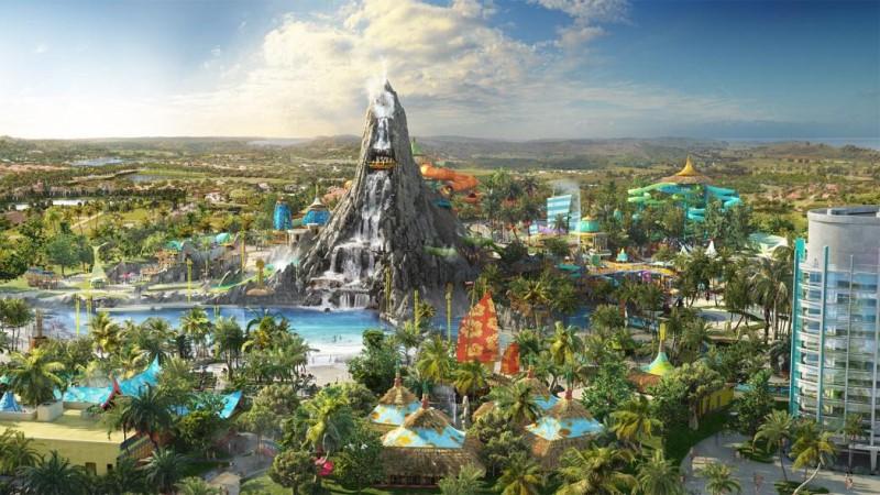 Universal's Volcano Bay será inaugurado em 25 de maio de 2017