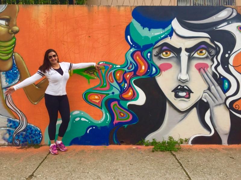 Arte Urbana e Grafite na cidade de São Paulo - Projeto #MoradorTurista