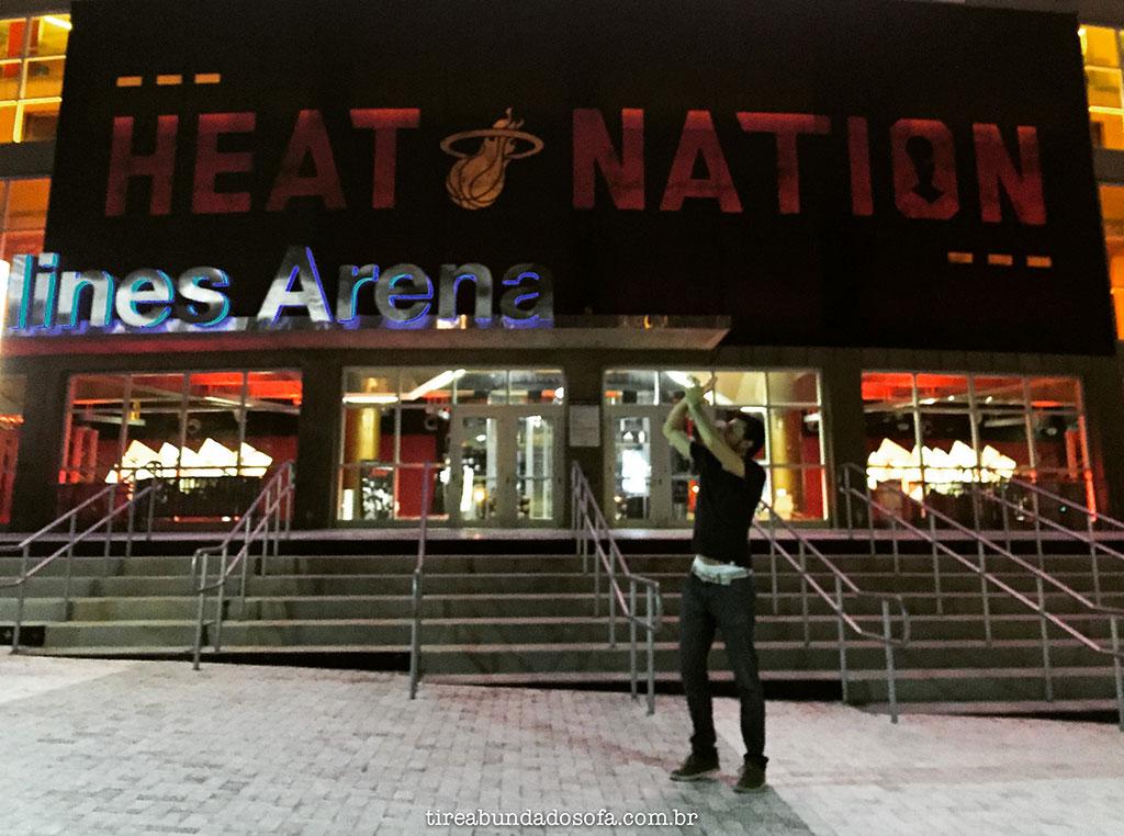 american airlines arena, casa do time da NBA miami heat