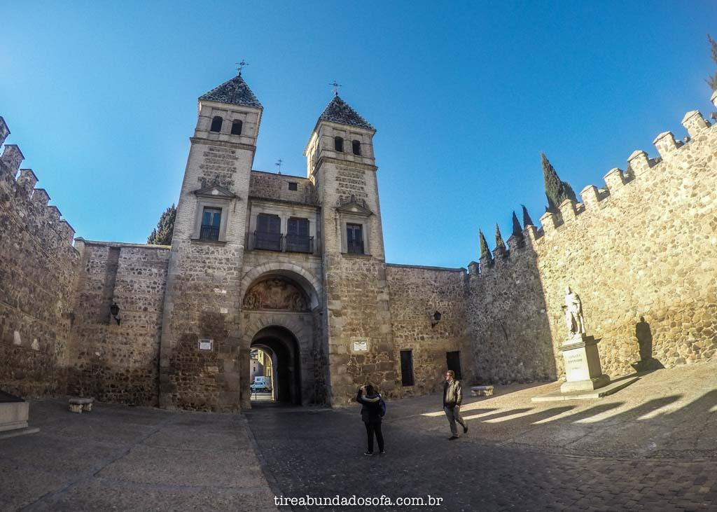 A cidade medieval de Toledo, perto de Madrid, na Espanha
