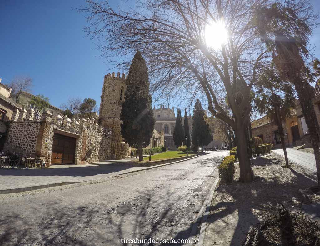 Pelas ruas charmosas de Toledo, na Espanha