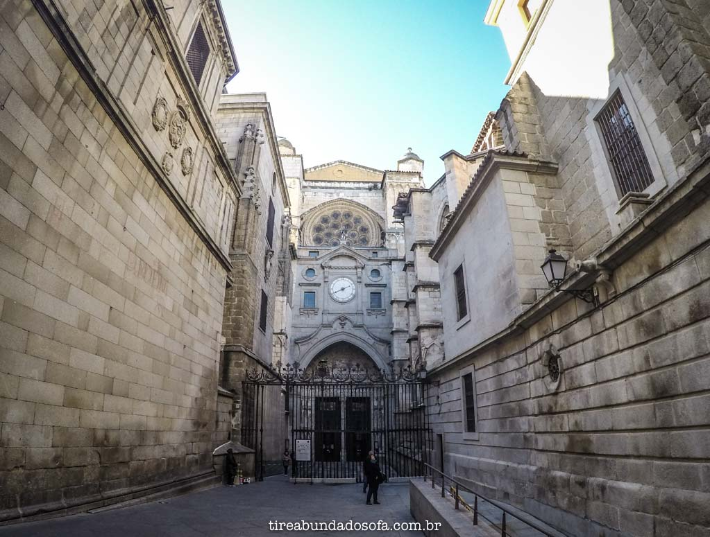 igrejas escondidas em toledo, na espanha